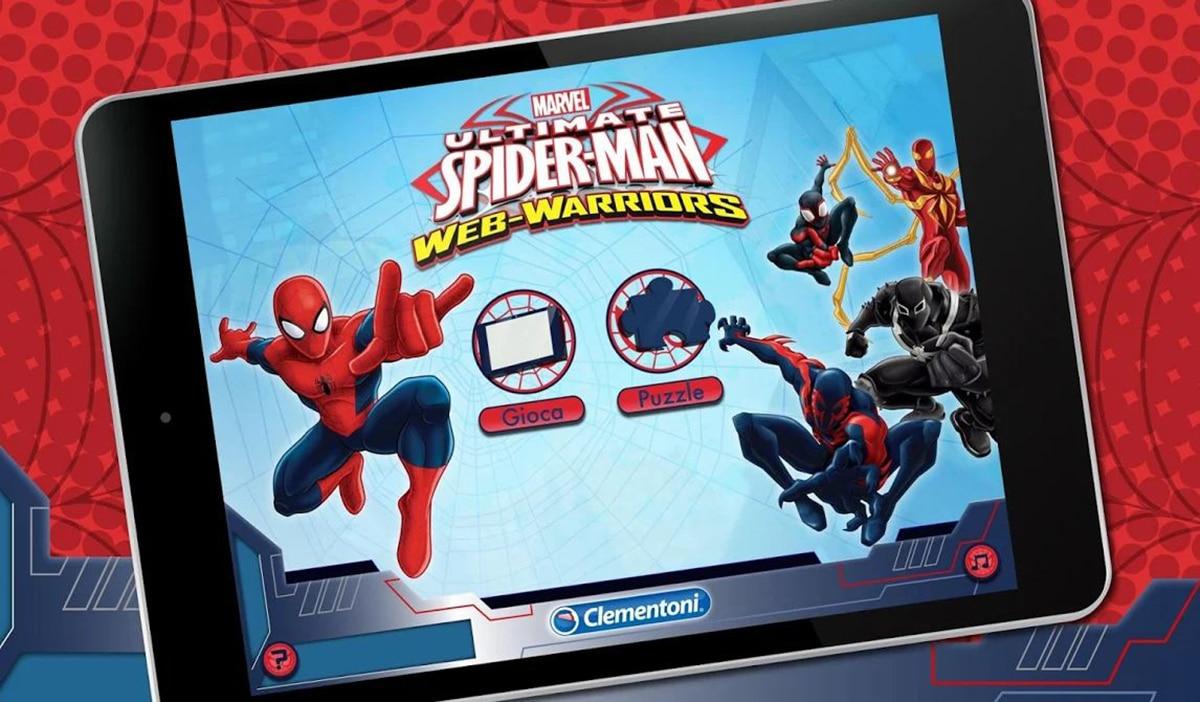 Puzzle App Spiderman