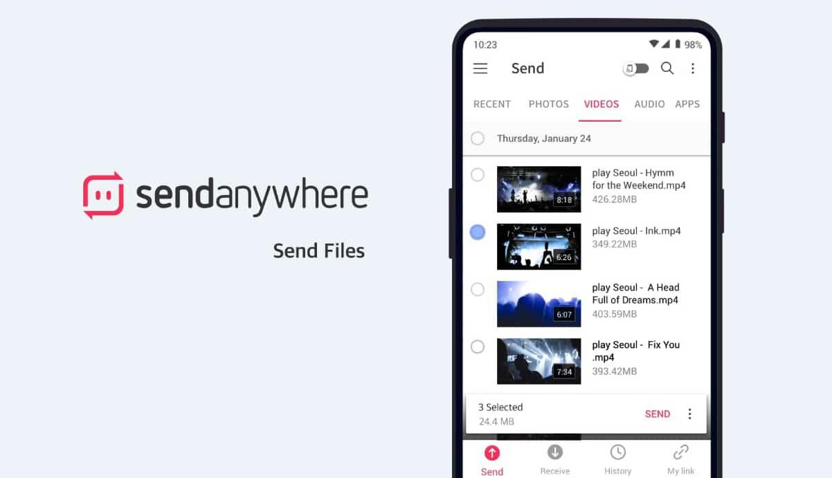 Send Any Where