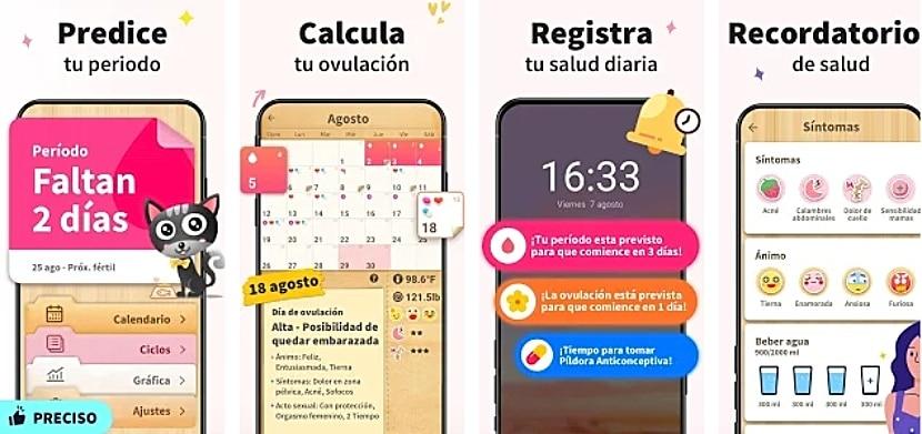 Calendario Menstrual - Fertilidad y Ovulacion