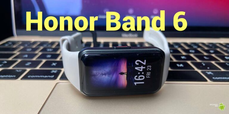 Honor Band 6 portada