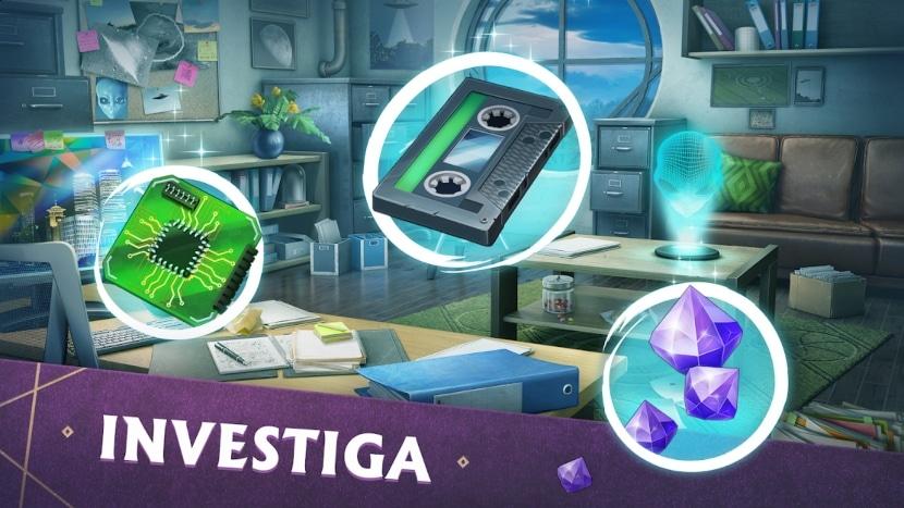 Mystery Manor: Encontrar objetos ocultos
