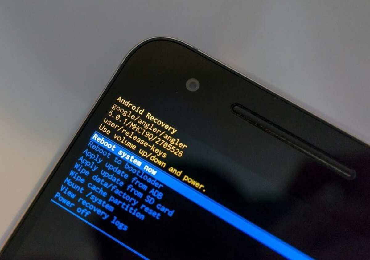Particion caché Android