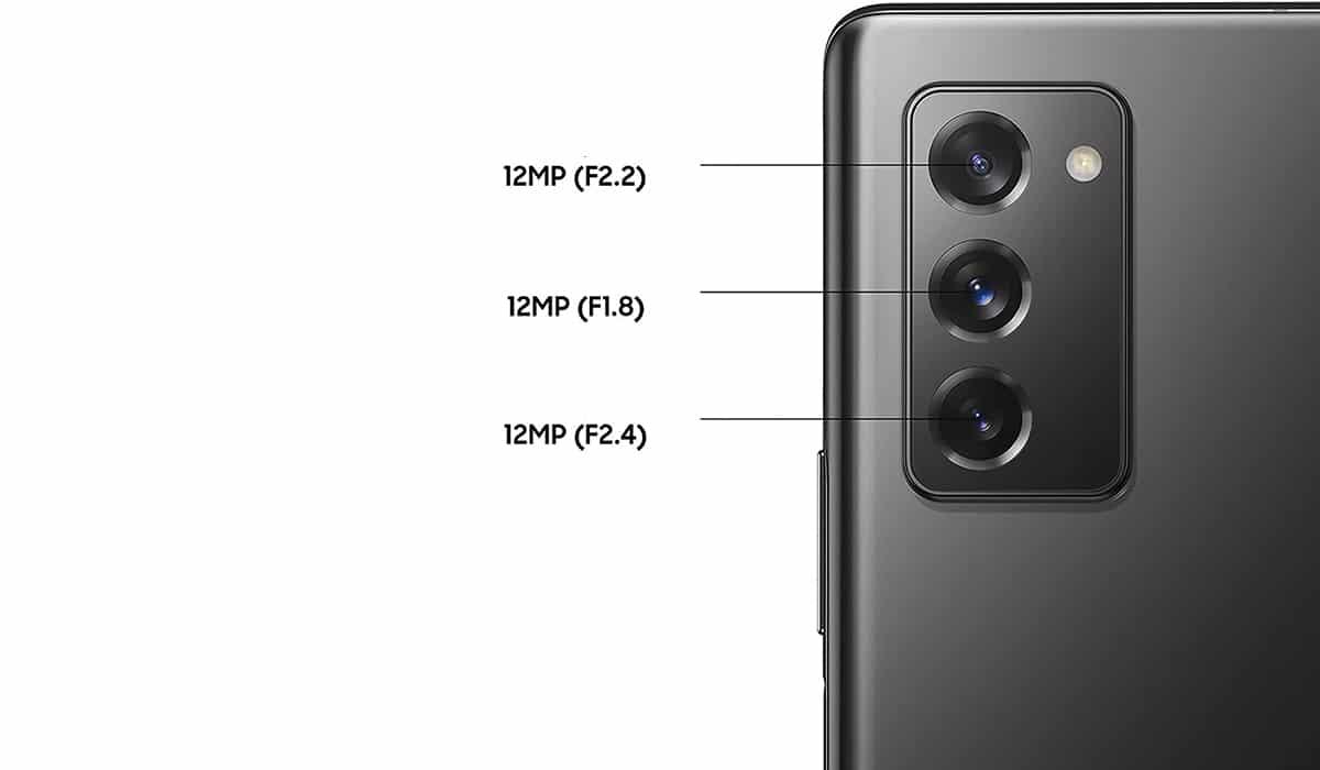 Galaxy Fold 2 cámaras