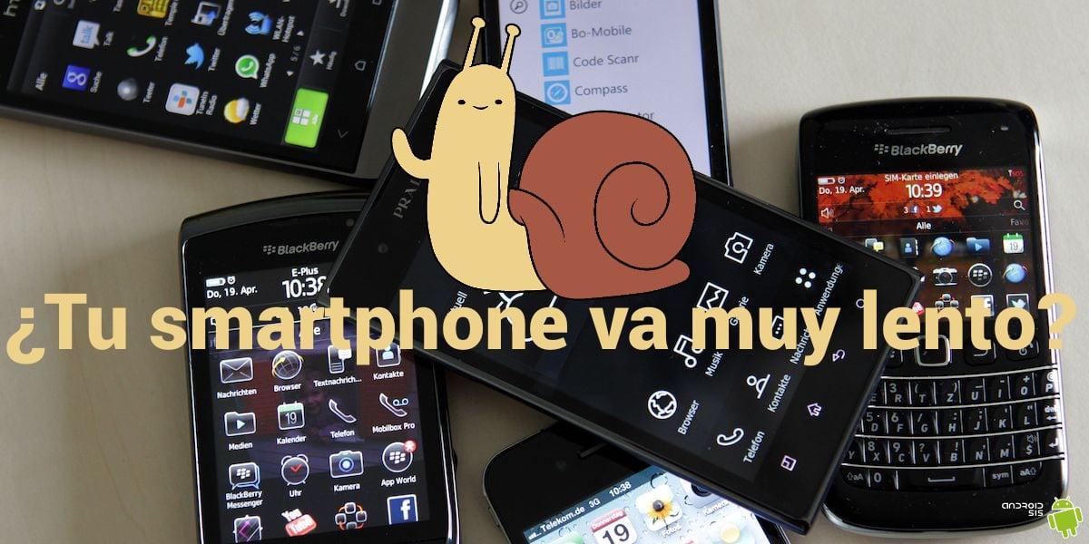 smartphone lento