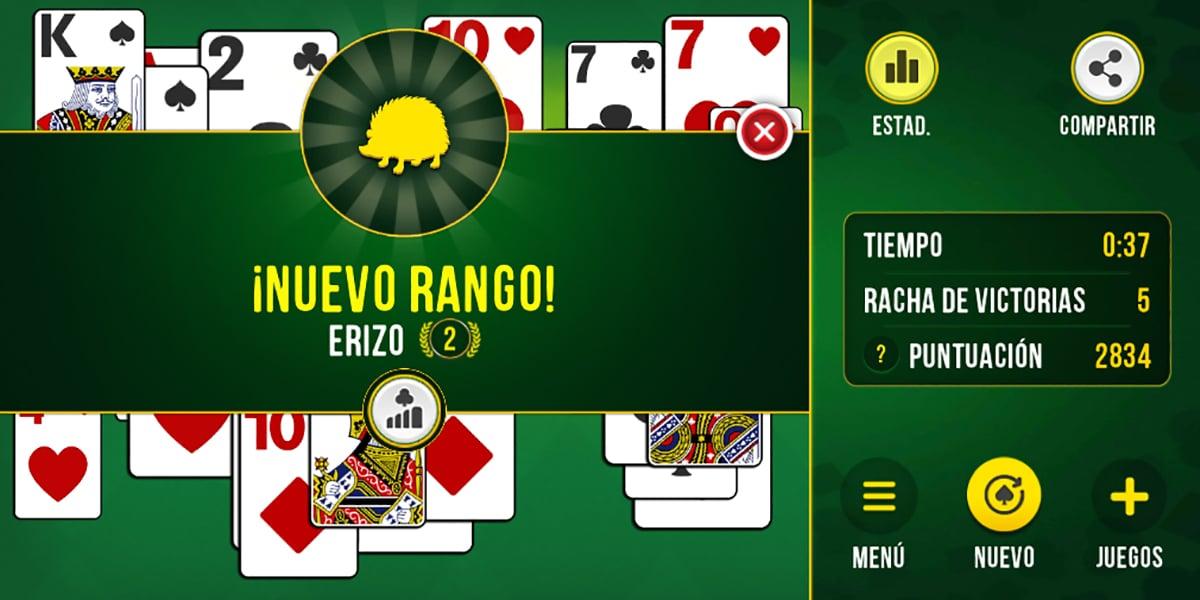 Solitario juego app