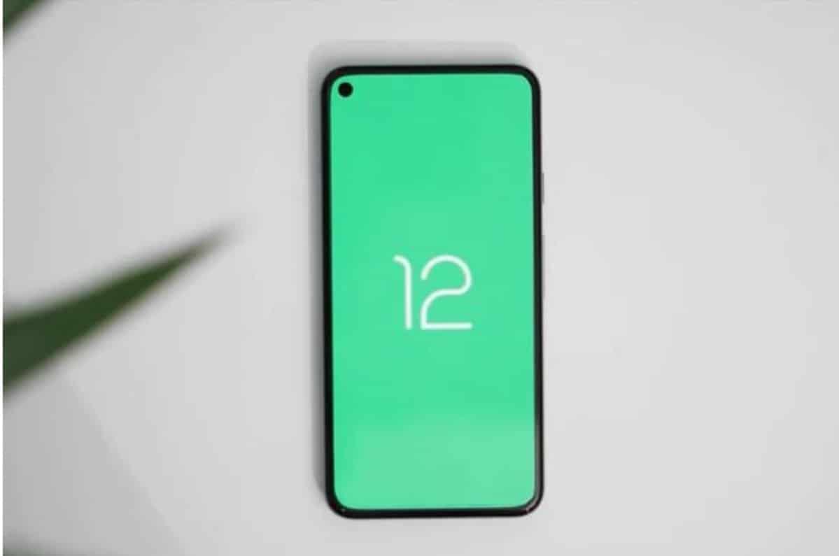 Android 12 móvil
