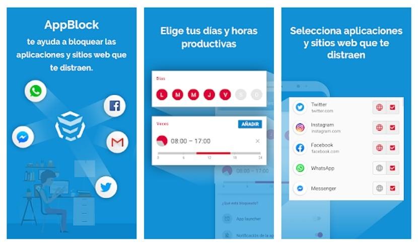 AppBlock: Mantén Concentración, Bloquea Web & Apps