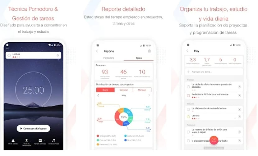 Focus To-Do: Técnica Pomodoro + Gestión de tareas