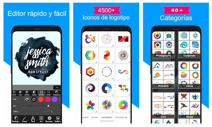 Logo Maker - reador y diseñador del logotipo