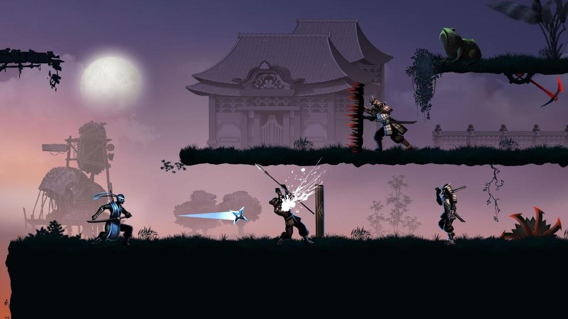 Ninja warrior: leyenda de los juegos de aventura