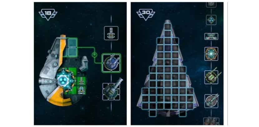 Space Arena: Spaceship games - 1v1 Build & Fight