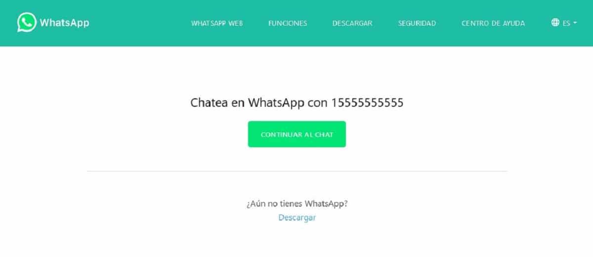 Enviar WhatsApp sin contacto en agenda