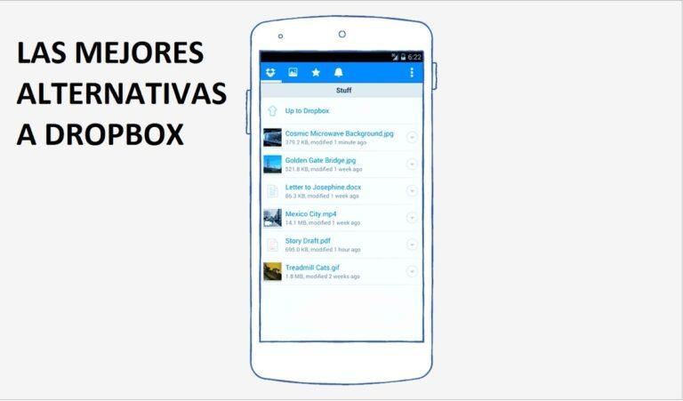 Mejores alternativas Dropbox