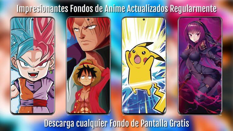 Fondos de pantalla de Anime 4K