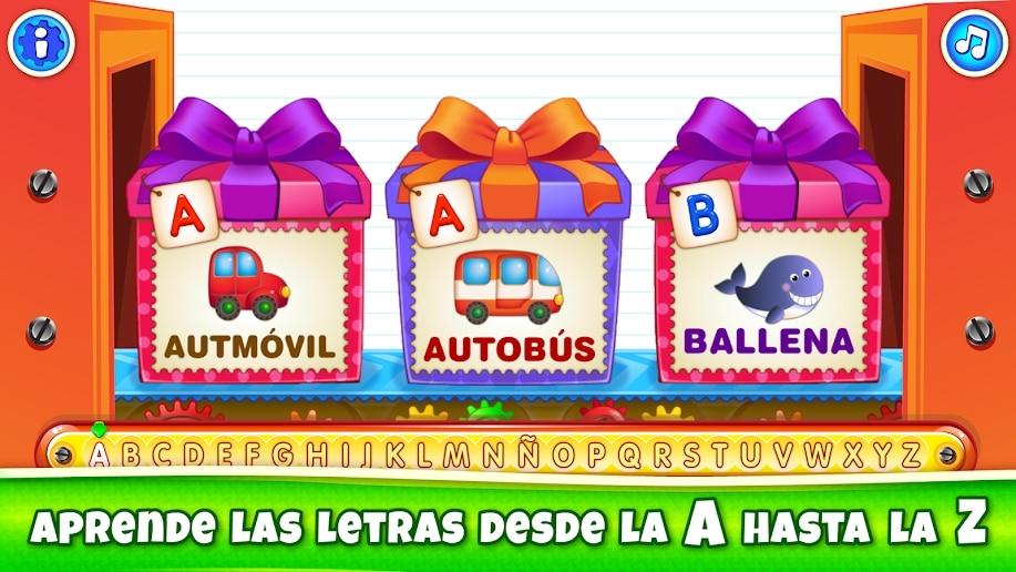 Letras en cajas! Juegos de abecedario!