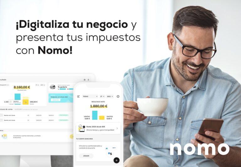 Gestión de facturas e impuestos con Nomo