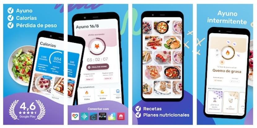 YAZIO: contador de calorías