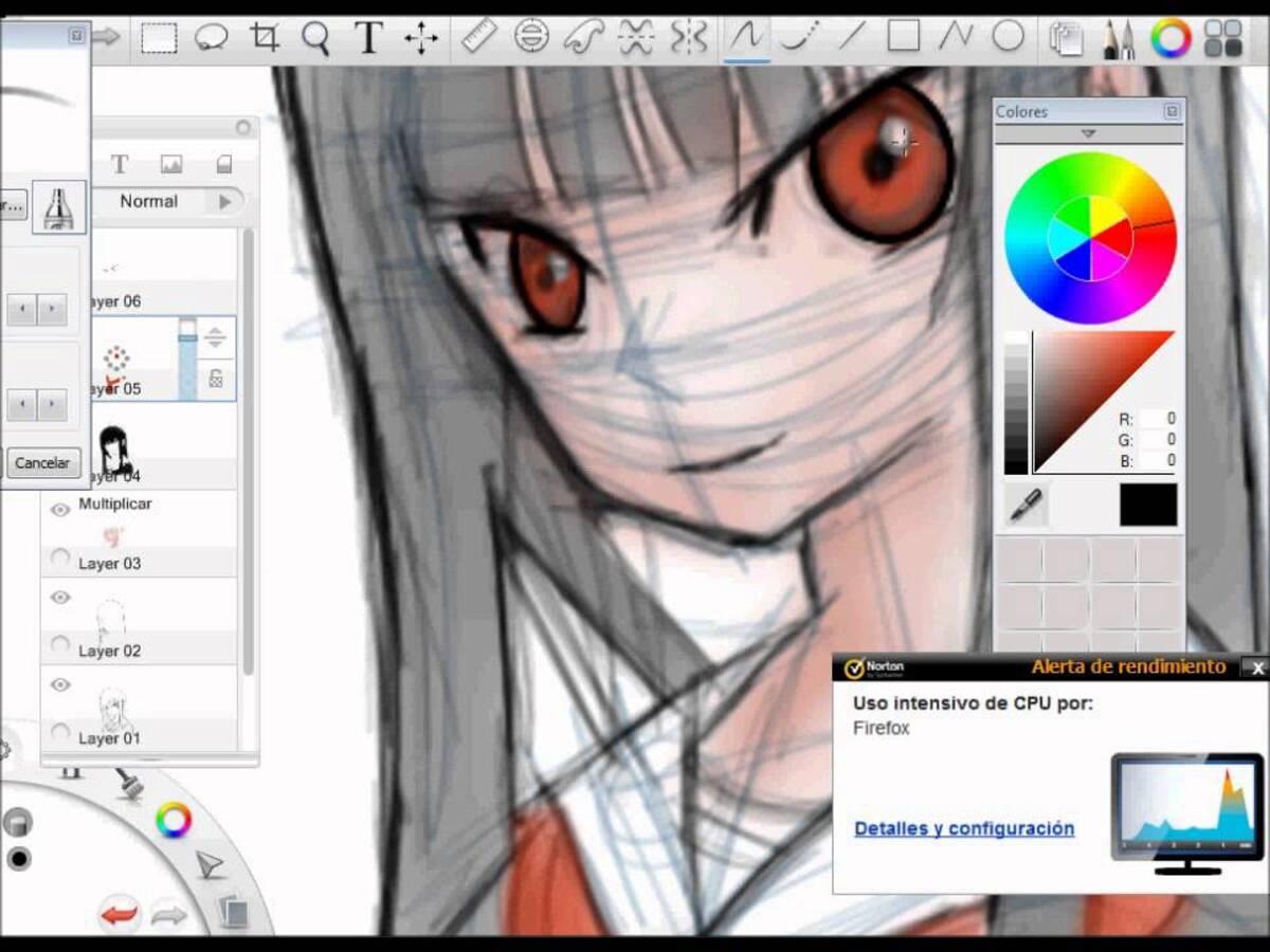 Apps dibujar anime