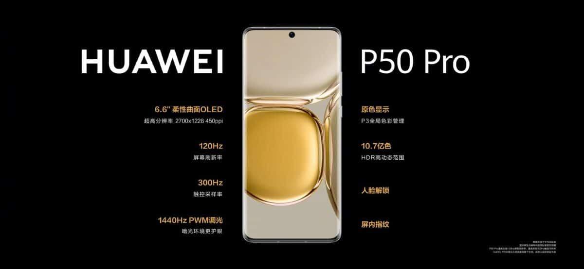 Huawei P50 Pro ficha