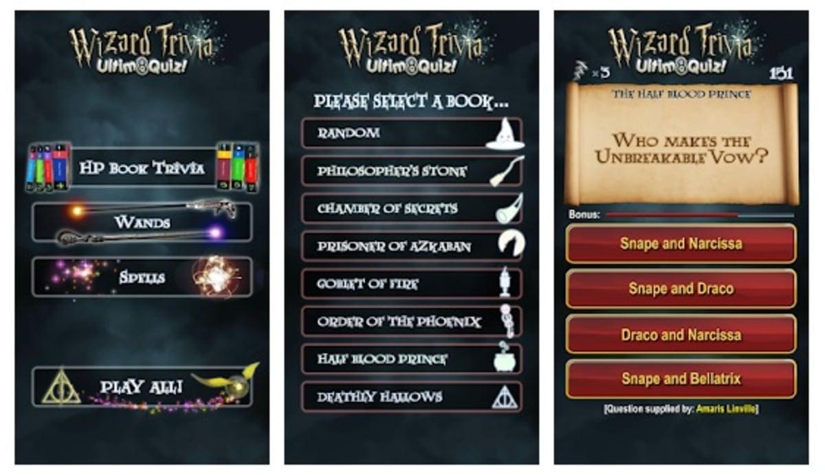Wizard Trivia Harry Potter