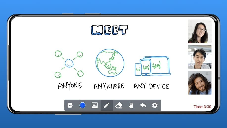 Heyhi – Video call with interactive whiteboard