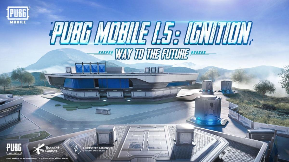 PUBG Mobile actualización 1.5