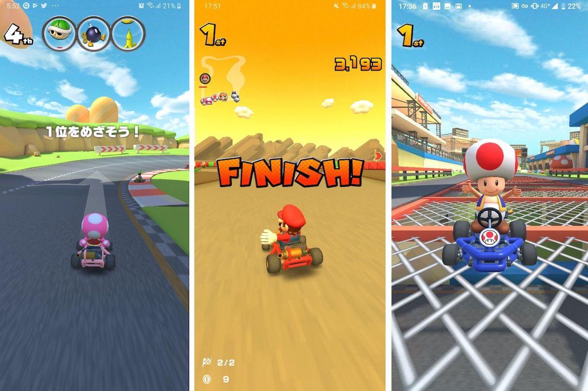 Mario KT Finish