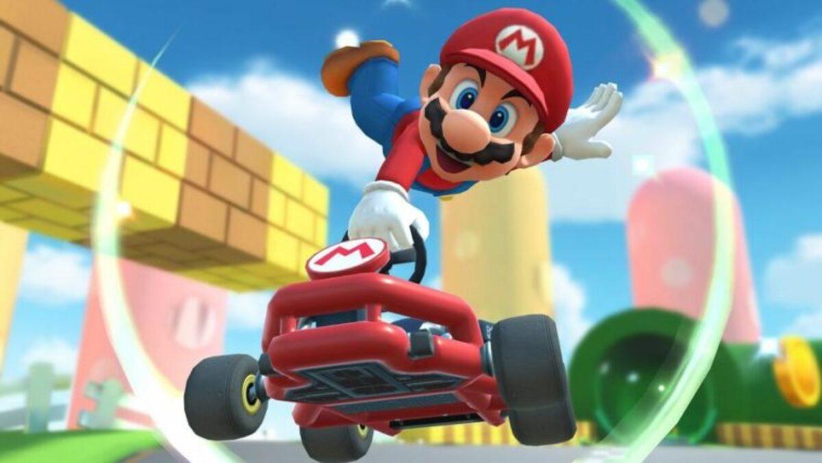 Mario Kart Tour Salto