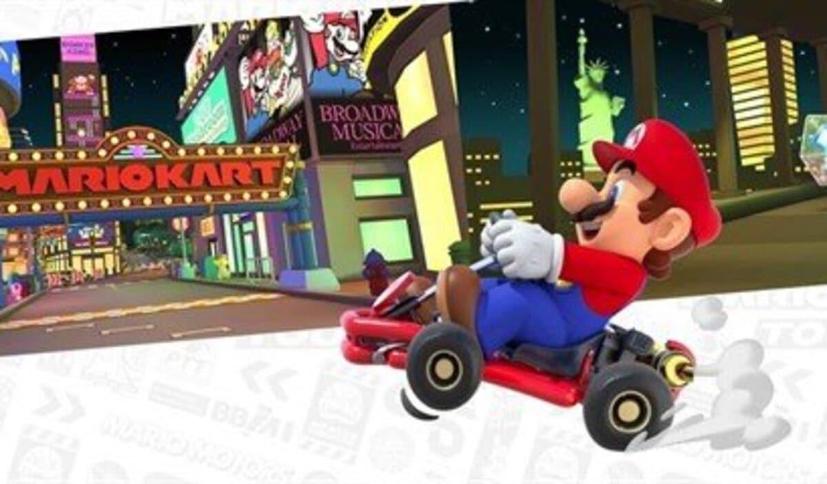 Mario en Kart Tour