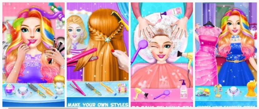 Trenzado Peinado Moda Estilista Salón de Belleza