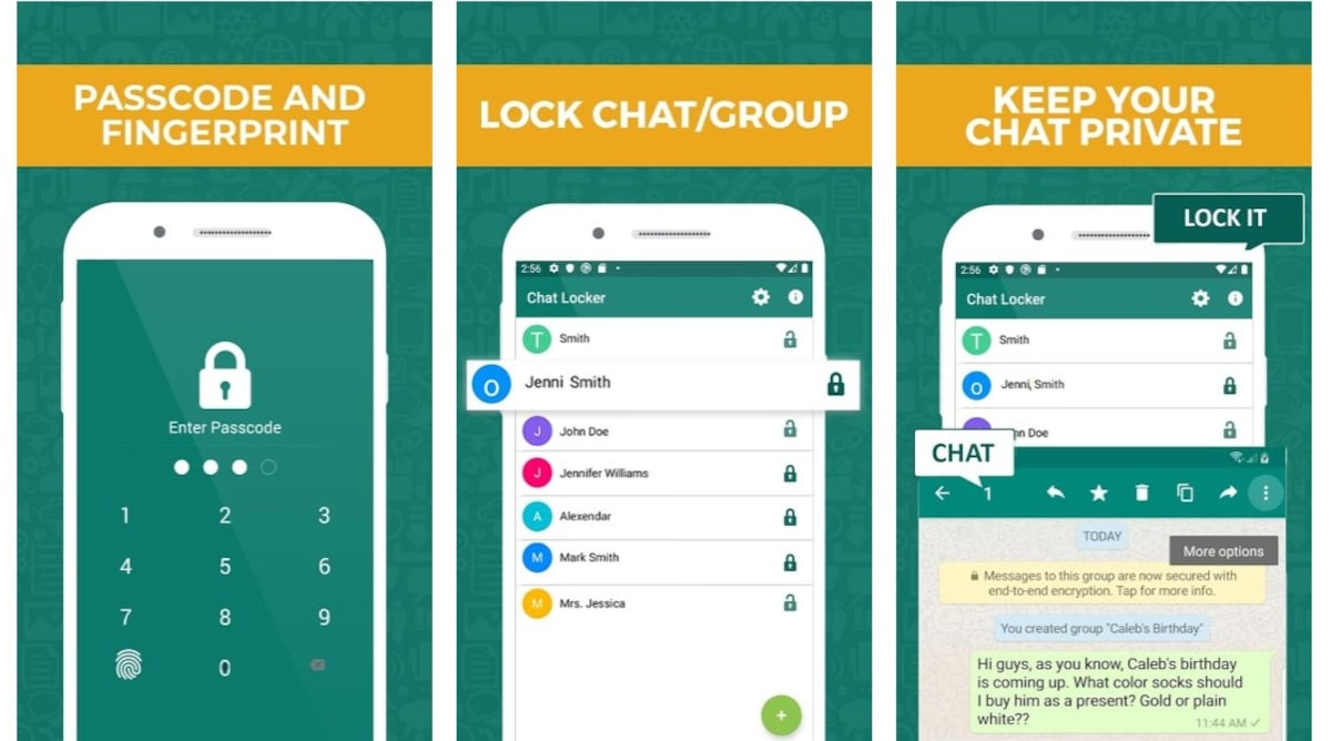 Chat Locker