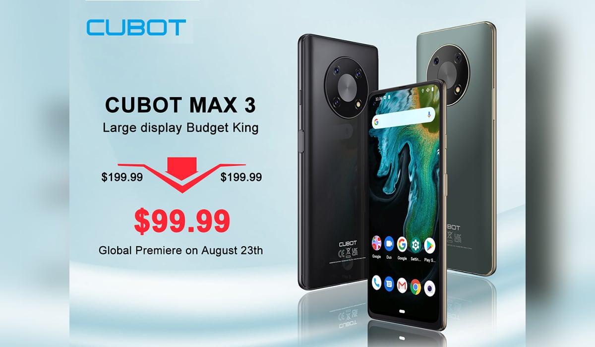 Cubot Max3