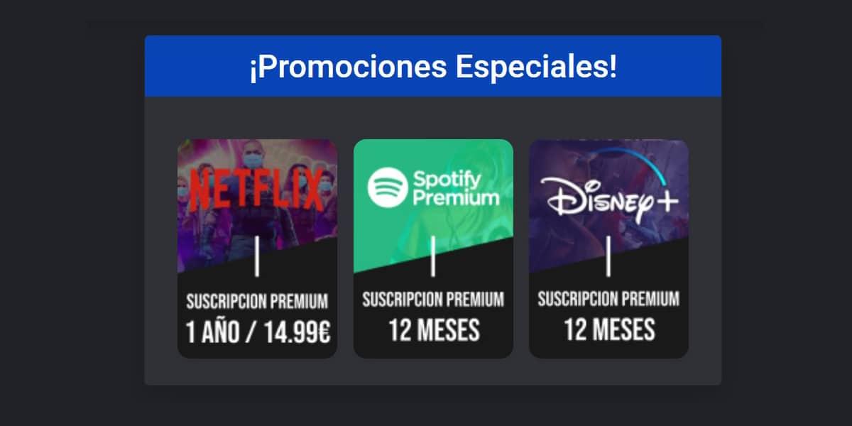 cuentas robadas Netflix