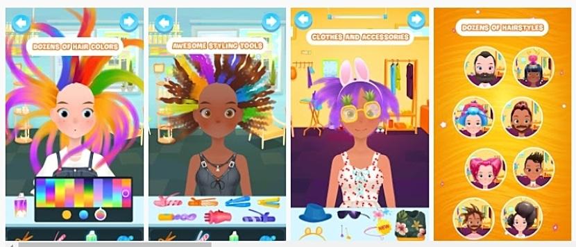 Salón de belleza - Juegos de chicas