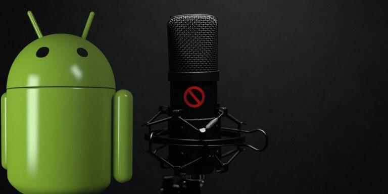 Microfono no funciona movil Android