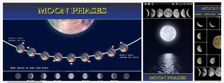 Fases de la luna: calendario Lunar Eclipse