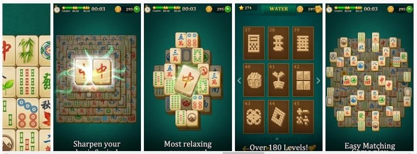 Mahjong Solitaire: Clásico