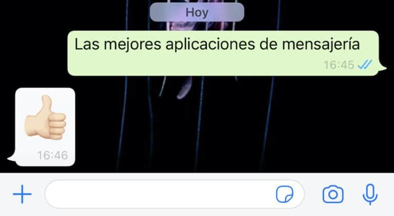 Mejores aplicaciones mensajería