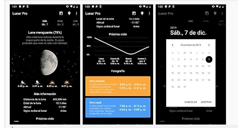 Mi Fase Lunar: calendario lunar y fases lunares