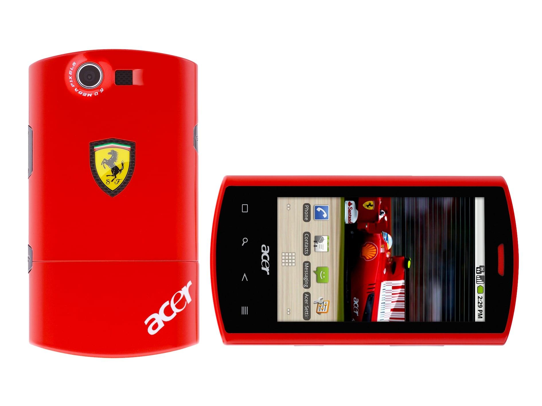 Acer Liquid E Ferrari SE