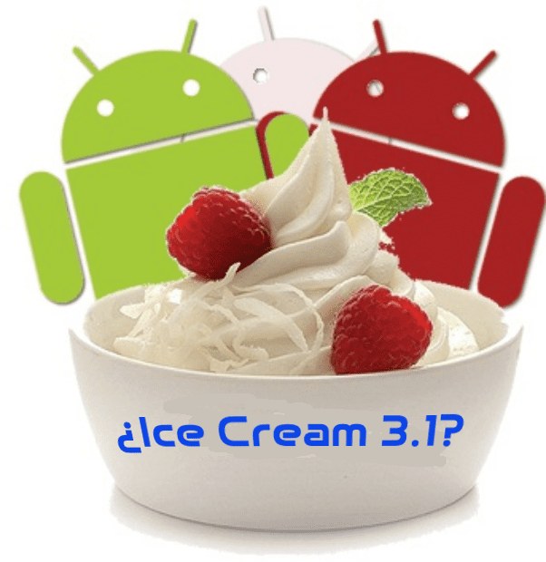 Androides con Ice Cream en copa