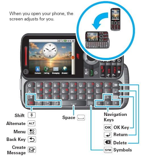 Motorola i886, dos teclados físicos y tecnología iDEN