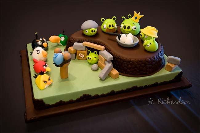 Angry Birds pastel Angry Birds es más rentable en Android que en IOS