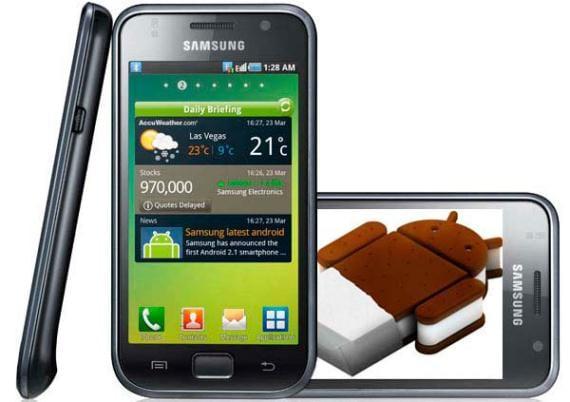 Samsung Galaxy S Ice Cream Sandwich