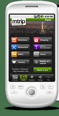 Guias de viaje Mtrip para Android