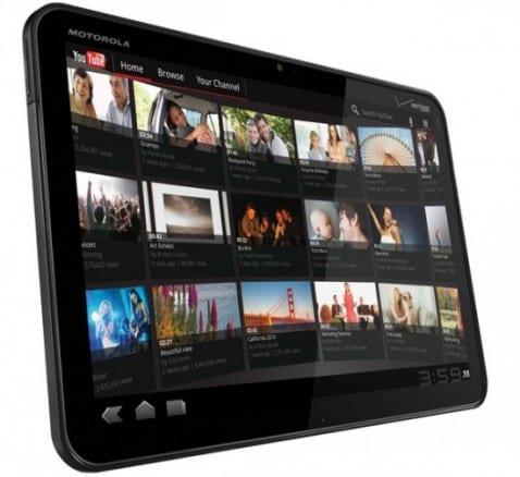 Motorola Xoom 3G recibe Android 3.1 Honeycomb