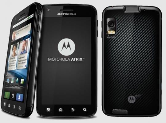 Motorola Atrix se actualiza a Android 2.3.4 Gingerbread