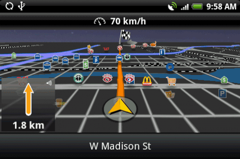 Navigon Mobile Navigator: un navegador GPS para smartphones Android