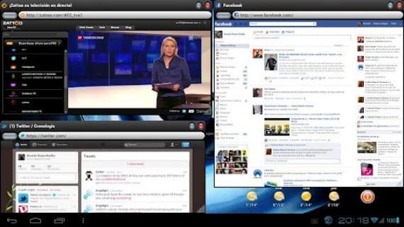 OverSkreen usa el sistema flotante en nuestro escritorio Android