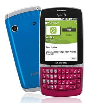 Samsung Replenish Frente y Trasera